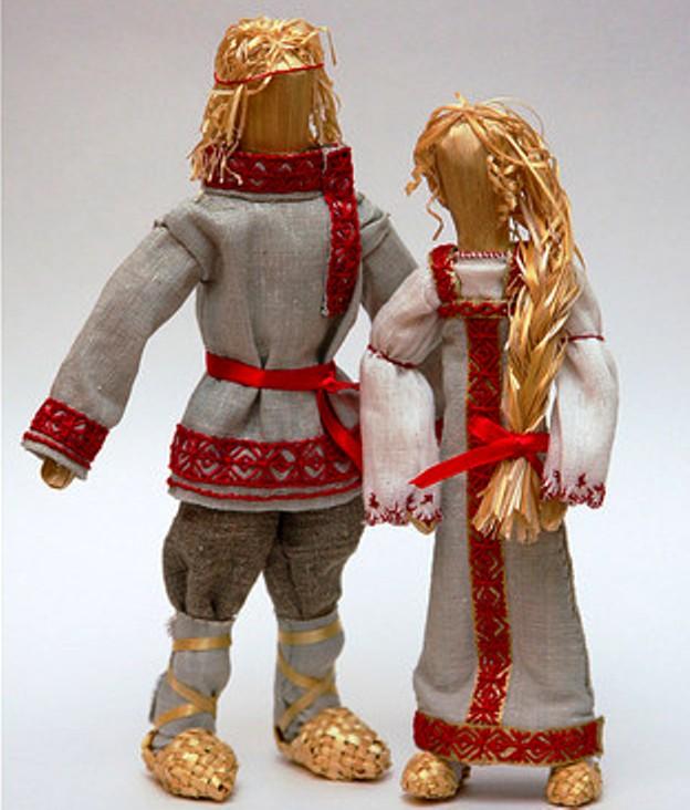 Сделать куклу в русском стиле